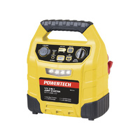 Compact Jump Starter with LED Light and USB - 12v 12ahr