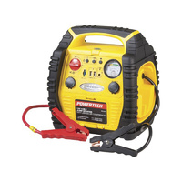 Jump Starter with Air Compressor and LED Work Light - 12v 17ah