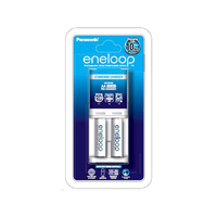 Panasonic Eneloop 2 Slot AA and AAA Overnight Charger and Battery Combo