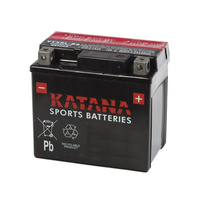 Katana YTX5L-BS 80cca 4ahr Premium AGM Motorcycle Battery