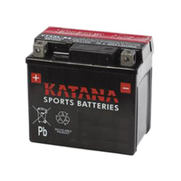 Katana YT7B-BS 85cca 6ahr Premium AGM Motorcycle Battery