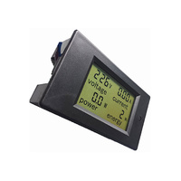 Voltage, Current, Energy and Wattage LCD Combo Meter 0-100a 6.5-100v