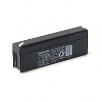 Panasonic 12v 2.2ahr Sealed Lead Acid Battery