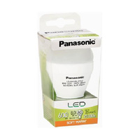Panasonic 8w (60w) 600 lm Soft Warm LED Bulb - Screw
