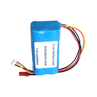 7.4v 6200mah Li-Ion Custom Battery Pack