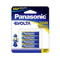 Panasonic Evolta Alkaline AAA Battery (4 Pack)