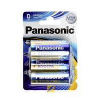 Panasonic Evolta Alkaline D Battery (2 Pack)
