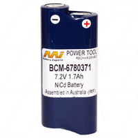 Makita 7.2v 1.7ah Ni-CD Compatible Power Tool Battery