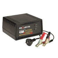 Projecta Charge N Maintain AC600 12v 4300ma 2 Stage Car Battery Charger