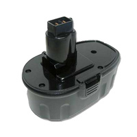 Black and Decker 18v 2.0ah Ni-CD Compatible Power Tool Battery (2)