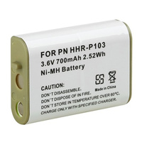 Aftermarket Panasonic HHR-P103A Compatible Cordless Phone Battery (Type 25)