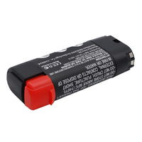 Black and Decker 6.6v 1200mah Li-ion Compatible Power Tool Battery