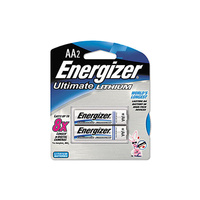 Energizer Lithium 1.5v AA Battery (2 Pack) - Carton Lot