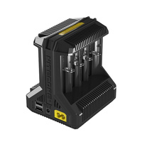 Nitecore 8 Slot I8 Intelligent Li-Ion and NiMH Battery Charger