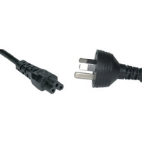 Power Cable 3 Pin Cloverleaf (2m)