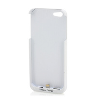 Qi Wireless Charging Receiver Case iPhone 5 (White)