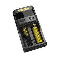 Nitecore 2 Slot SC2 Li-Ion and NiMH Fast Charger