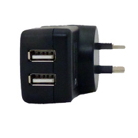 240v AC Dual 2a USB Charger