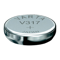 Varta V317 SR516 1.55v Silver Oxide Watch Battery