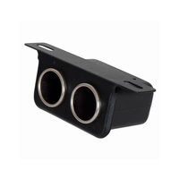 Under Dash Double Cigarette Lighter Socket