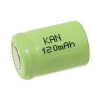 No Name 1/3AAA 120mah NiMH Rechargeable Battery