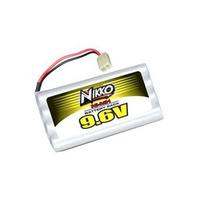 9.6v 700mah Flat NiMh Battery Pack