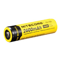 Nitecore Protected 3.7v 2600mah 18650 Battery