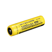 Nitecore Protected 3.7v 3400mah 18650 Battery