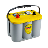 Optima D34 Yellow Top 12v 750ccA Spiralcell AGM Lead Acid Battery