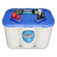 Optima D34M Blue Top 12v 750ccA Spiralcell AGM Lead Acid Battery