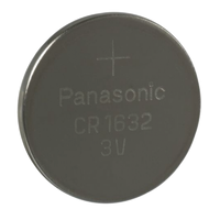 Panasonic CR1632 3v Lithium Button Cell Battery