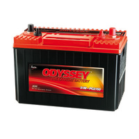 Odyssey PC2150MDT High Performance 12v 1150ccA AGM Sealed Lead Acid Battery