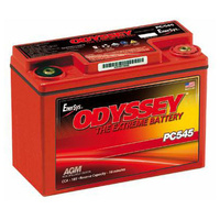 Odyssey PC545MJ High Performance 12v 185ccA AGM Sealed Lead Acid Battery