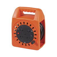4 Way AC 15m Extension Cable Reel