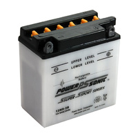 Power Sonic B38-6A 12v 85ccA 9ahr Conventional Motorbike Battery