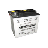 Power Sonic C60-N24L-A 12v 280ccA 28ahr Conventional Motorbike Battery