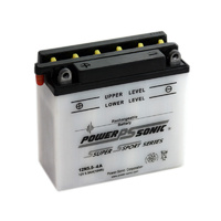 Power Sonic 12N5.5-4A 12v 55ccA 5.5ahr Conventional Motorbike Battery