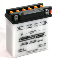 Power Sonic 12N5-3B 12v 40ccA 5ahr Conventional Motorbike Battery
