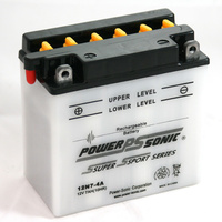 Power Sonic 12N7-4A 12v 74ccA 7ahr Conventional Motorbike Battery