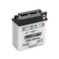 Power Sonic 6N11A-1B 6v 88ccA 11ahr Conventional Motorbike Battery