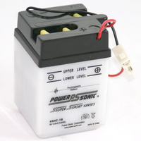 Power Sonic 6N4C-1B 6v 32ccA 4ahr Conventional Motorbike Battery