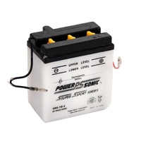 Power Sonic 6N6-1D-2 6v 48ccA 6ahr Conventional Motorbike Battery