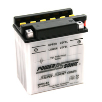 Power Sonic CB10L-B2 12v 160ccA 11ahr Conventional Motorbike Battery
