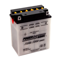 Power Sonic CB12A-B 12v 165ccA 12ahr Conventional Motorbike Battery