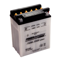 Power Sonic CB14-B2 12v 190ccA 14ahr Conventional Motorbike Battery