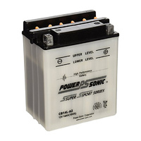 Power Sonic CB14L-A2 12v 190ccA 14ahr Conventional Motorbike Battery (YB14L-A2)