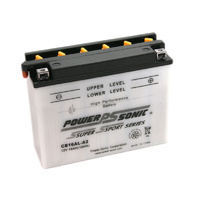 Power Sonic CB16AL-A2 12v 175ccA 16ahr Conventional Motorbike Battery