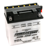 Power Sonic CB16CL-B 12v 240ccA 19ahr Conventional Motorbike Battery