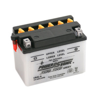 Power Sonic CB4L-A 12v 50ccA 4ahr Conventional Motorbike Battery (YB4L-A)