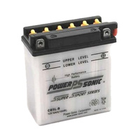 Power Sonic CB5L-B 12v 55ccA 5ahr Conventional Motorbike Battery